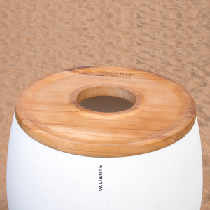 Top with hole Classic Icebucket wood wi